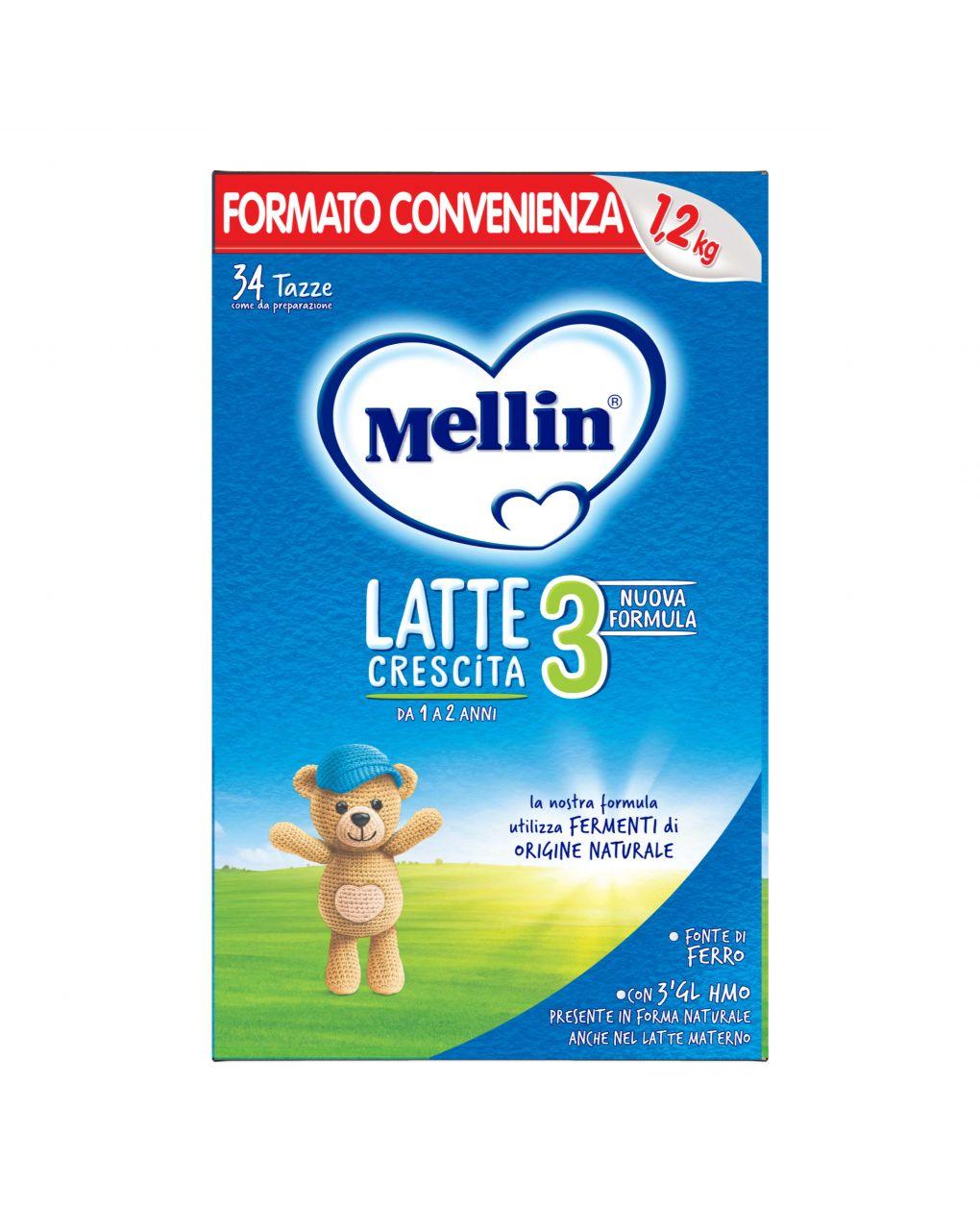 Mellin - latte mellin 3 polvere 1200g - Mellin