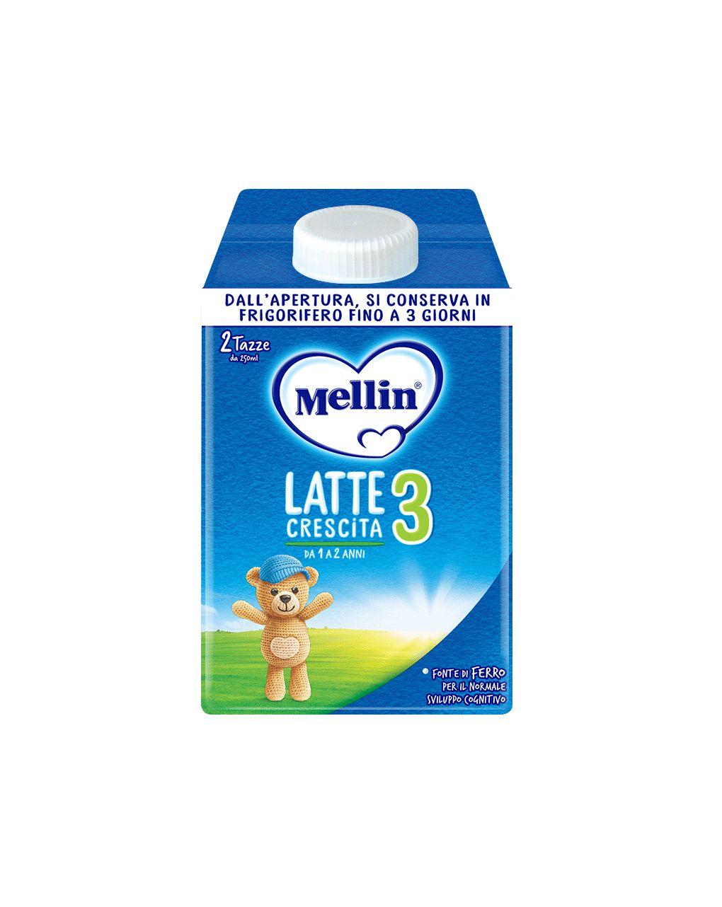 Mellin - latte mellin crescita 3 liquido 500ml - Mellin