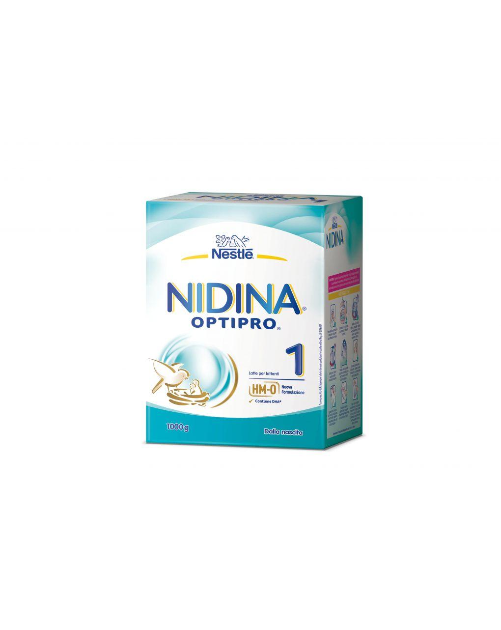 Nestlè - latte nidina 1 l.reuteri polvere 2x500g - Nestlé