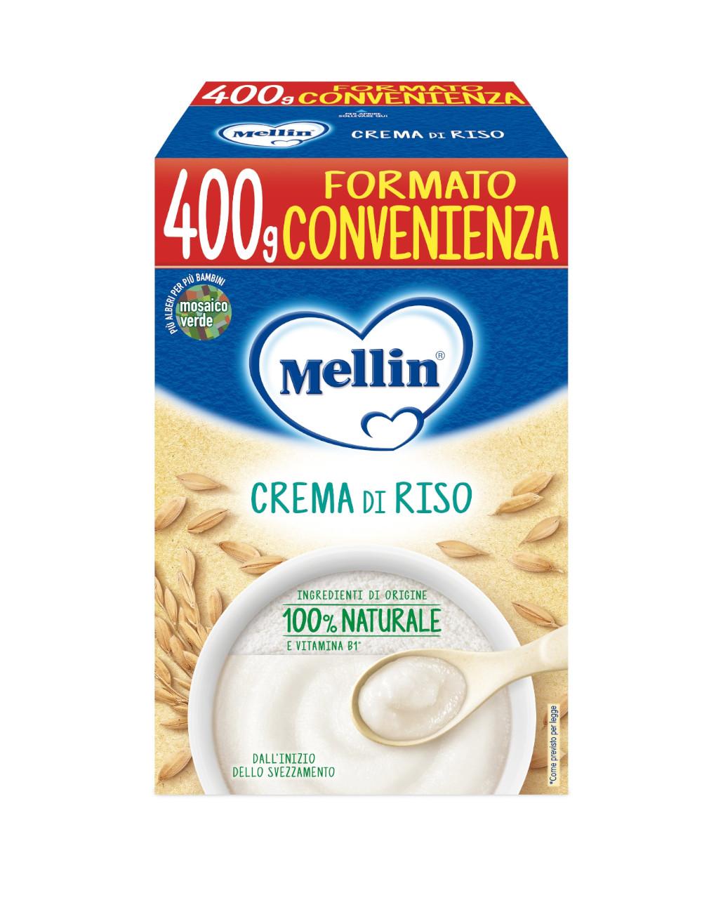 Mellin - crema di riso 400g - Mellin