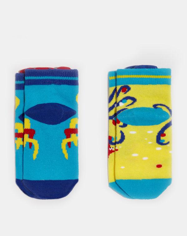 Pack 2 paia di calze corte con pesci - Prénatal