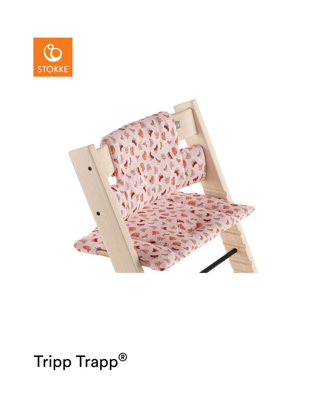 Tripp trapp® cuscino – pink fox - Stokke