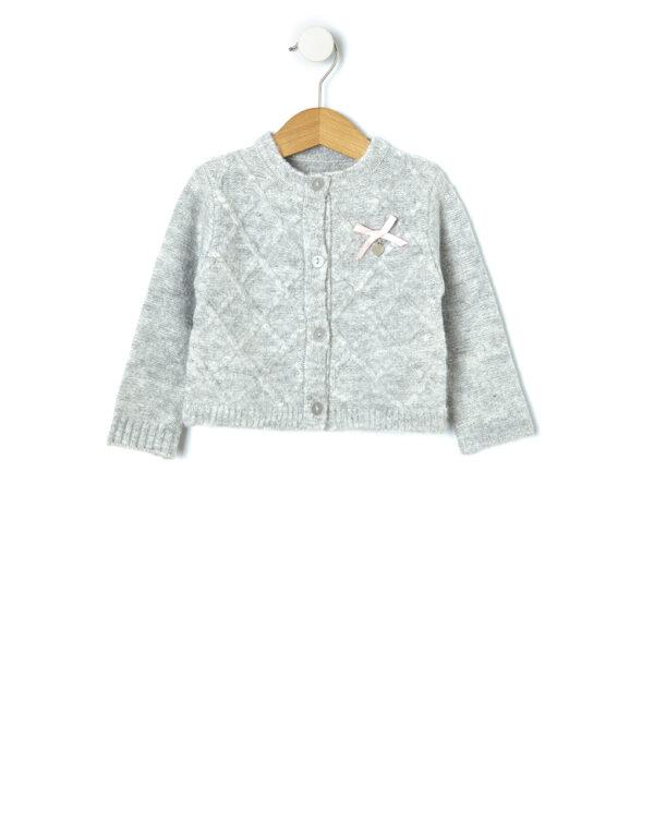 Cardigan tricot con trecce - Prénatal