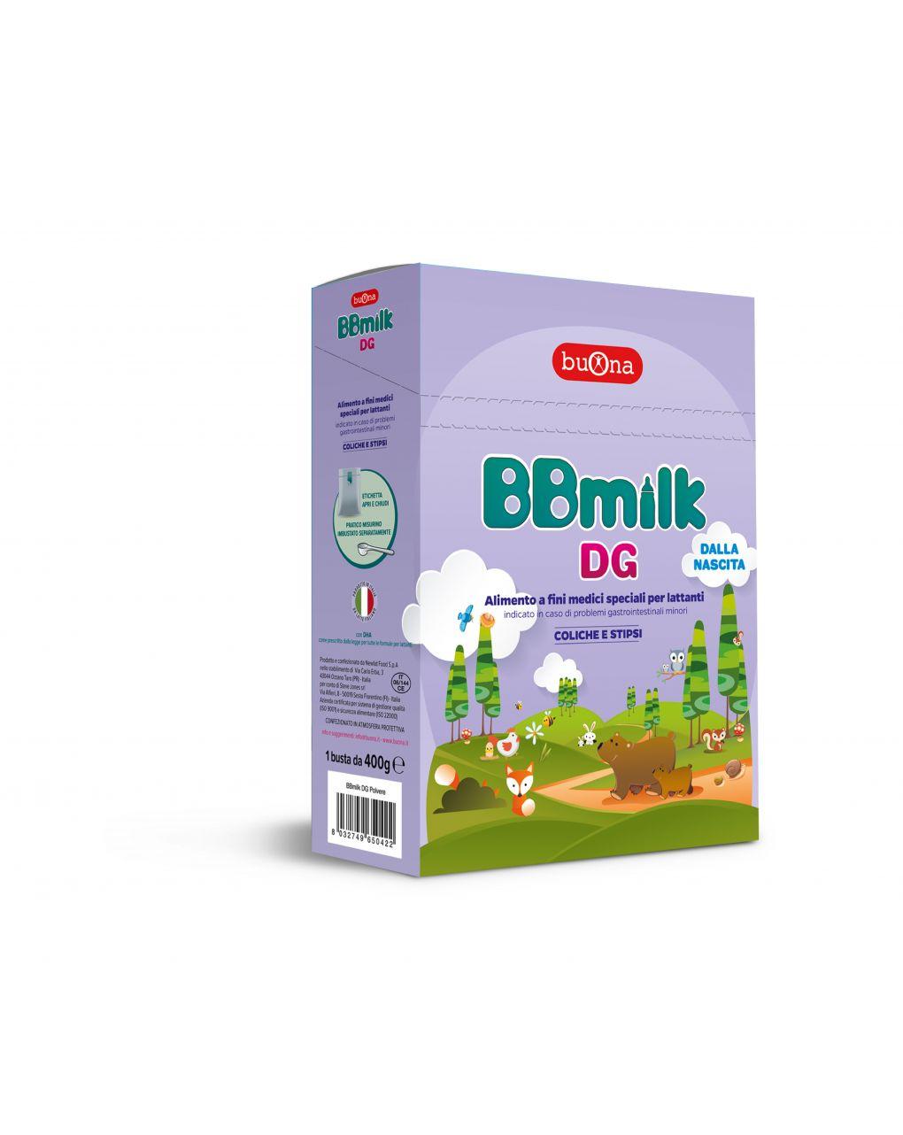 Buona - latte bbmilk dg polvere 400g - Buona