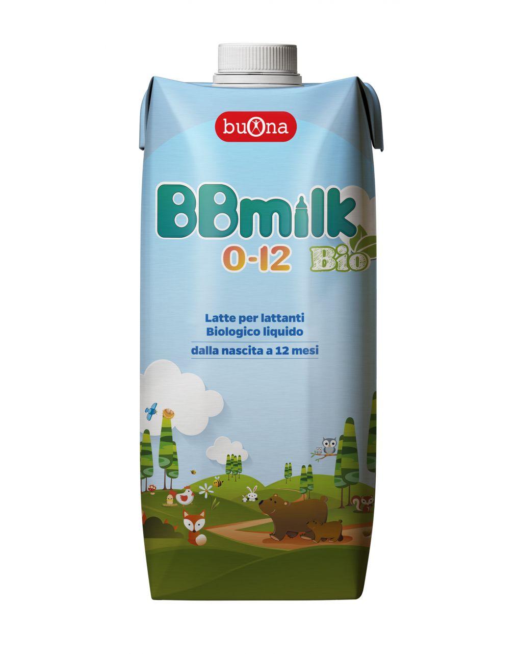 Buona - latte bbmilk 0/12 mesi bio liquido 500ml - Buona