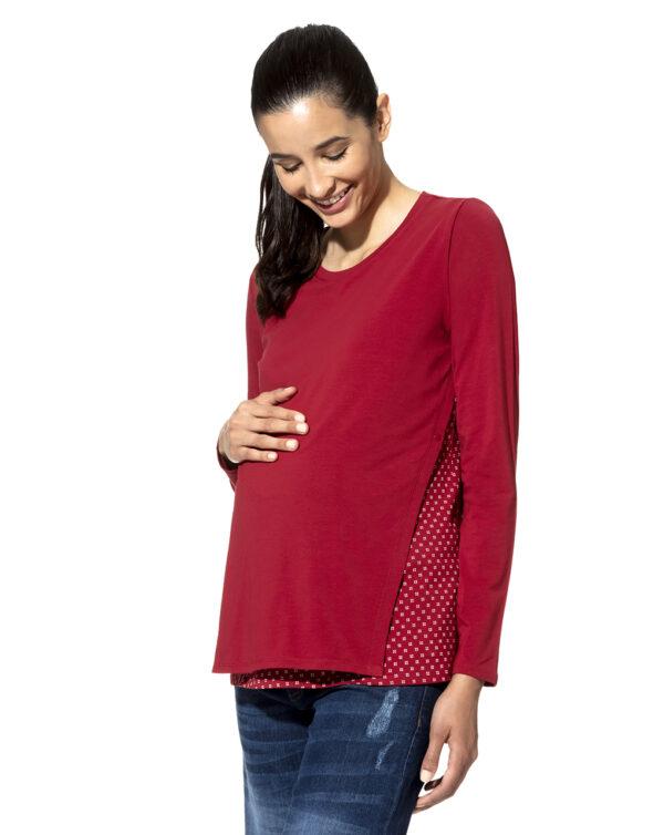 T-shirt allattamento doppiata - Prénatal