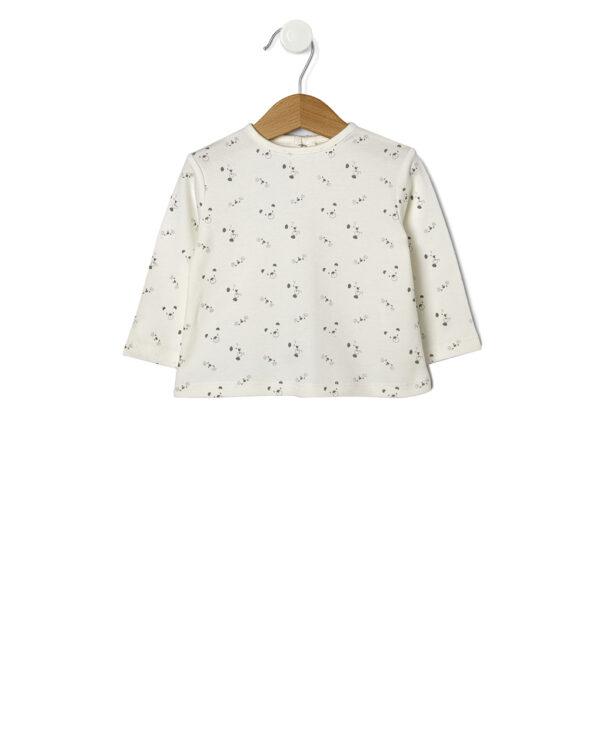 T-shirt con stampa allover - Prénatal