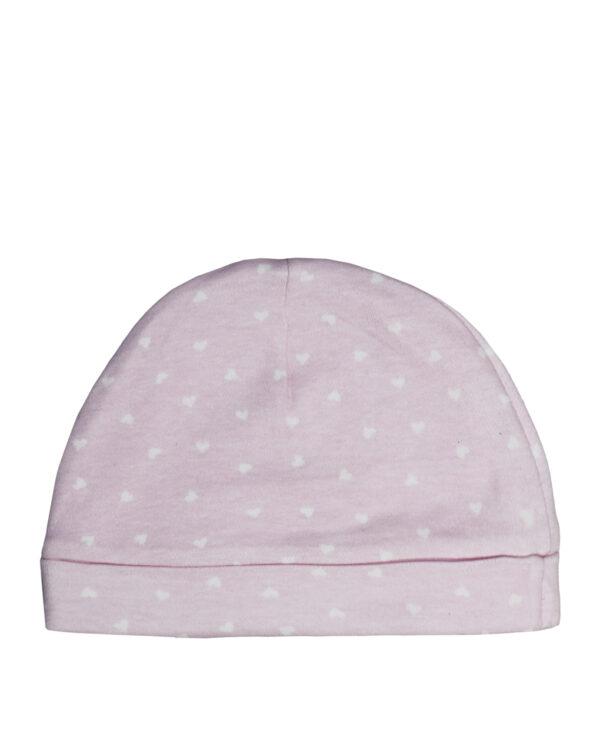 Cappellino rosa con stampa cuori - Prénatal