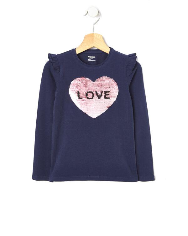 T-shirt con paillettes reversibili - Prénatal