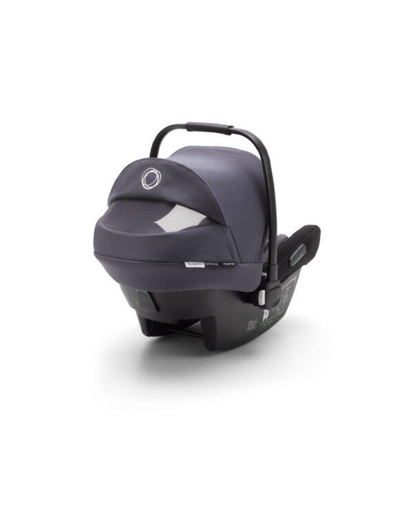 Seggiolino auto Bugaboo turtle air by Nuna blu acciaio - Bugaboo