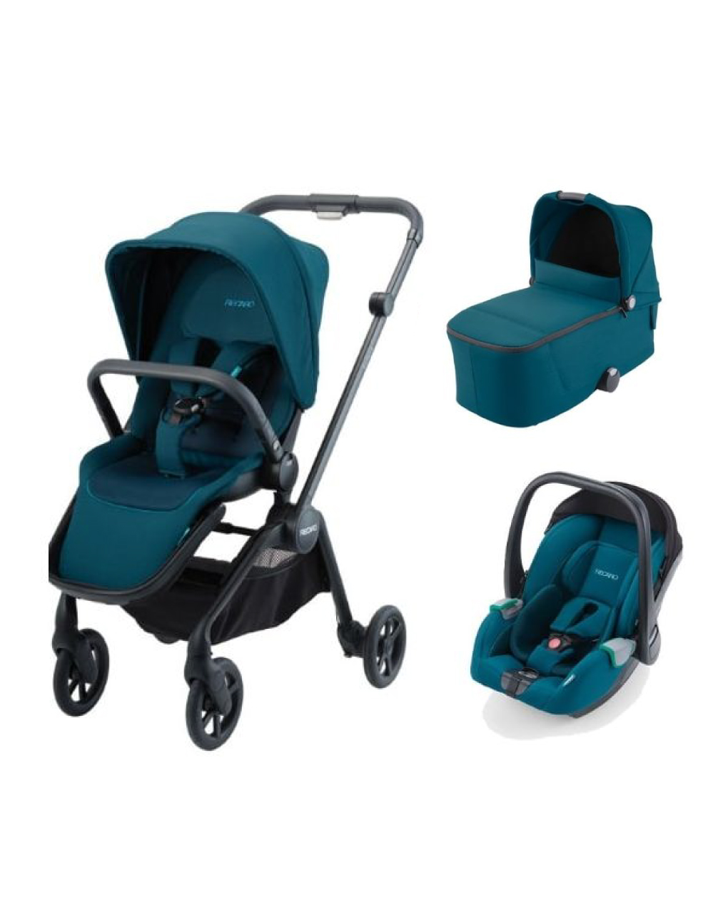 Recaro trio sadena alu select teal green