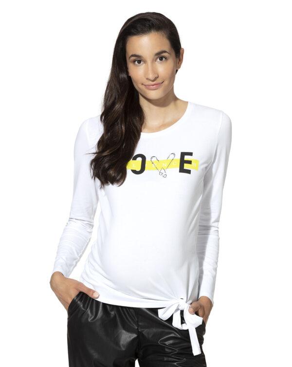 T-shirt premaman con nodo - Prénatal