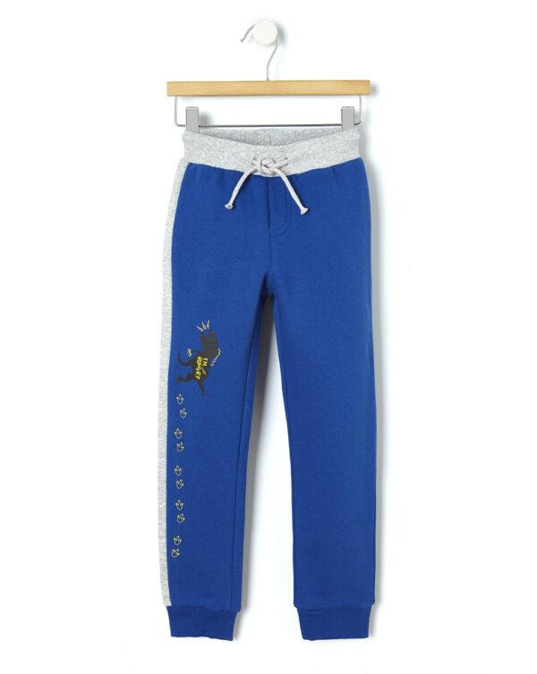 Pantalone in felpa con banda laterale - Prénatal