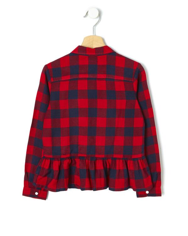 Camicia in flanella con paillettes - Prénatal