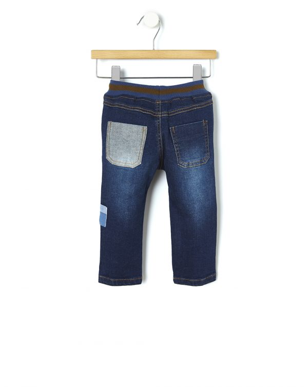 Pantalone denim con inserti - Prénatal