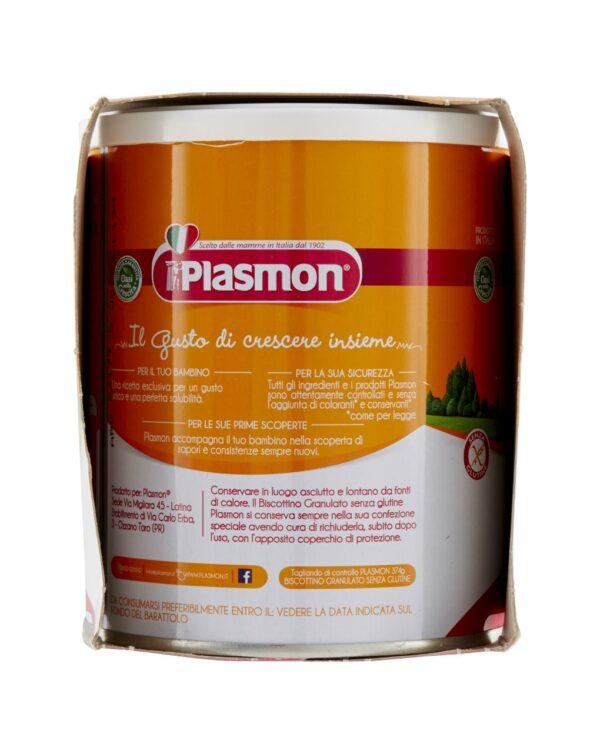 Plasmon - Biscottino granulato senza glutine 2x374g - Plasmon