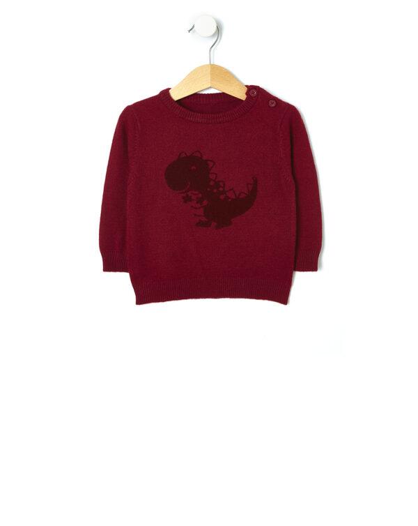 Maglia tricot con stampa dinosauro - Prénatal