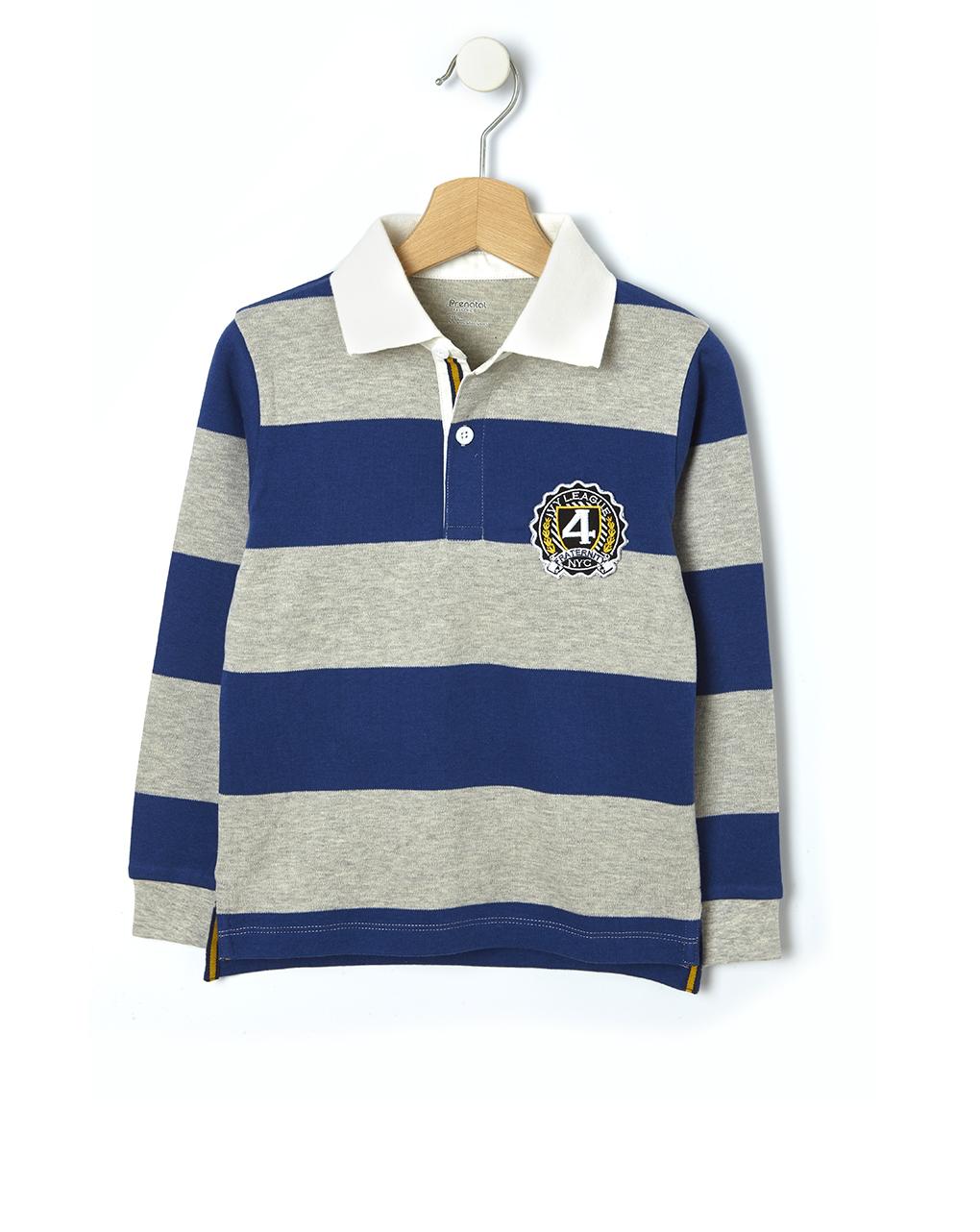 Polo rugby con maxi stampa - Prénatal
