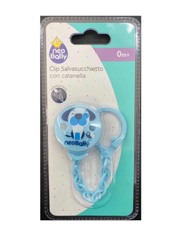 Catenella plastica azzurra Neo Baby - Neo Baby