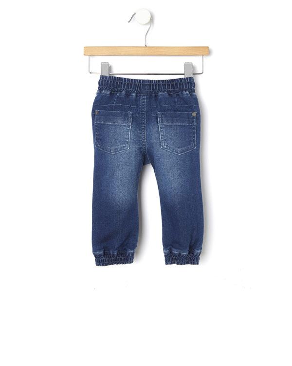 Pantalone denim con ricami - Prénatal
