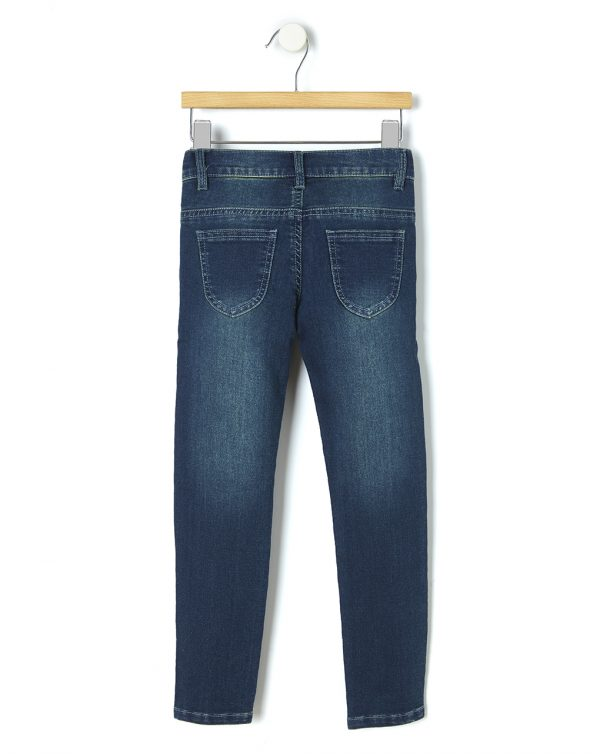 Pantalone in denim con ricami - Prénatal