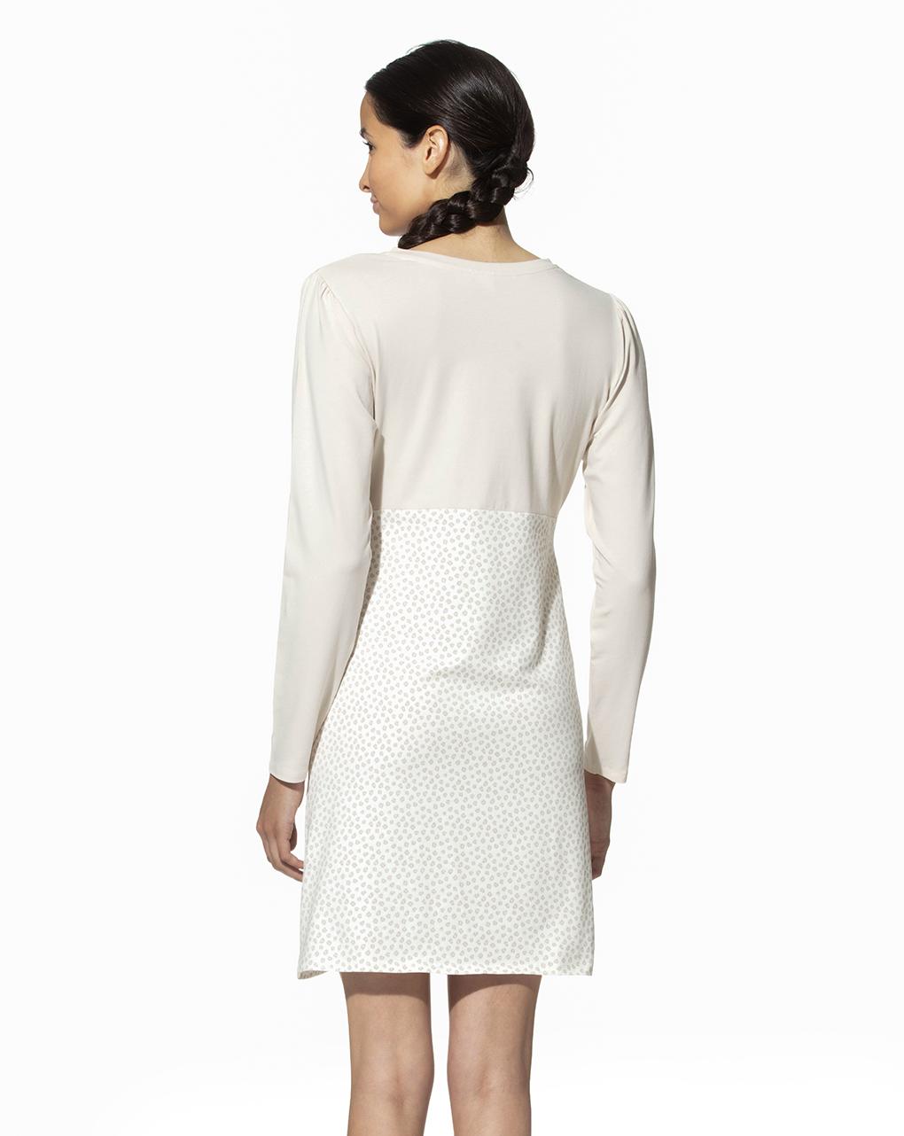 Camicia da notte allattamento in cotone organico - Prénatal