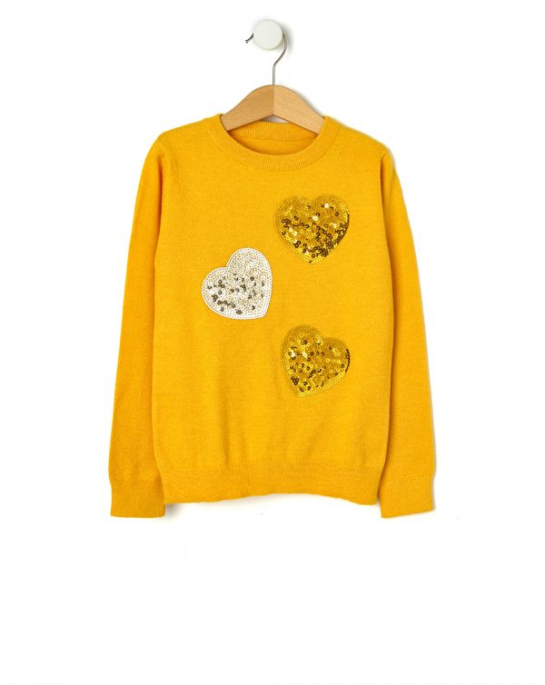 Maglia tricot con paillettes - Prénatal