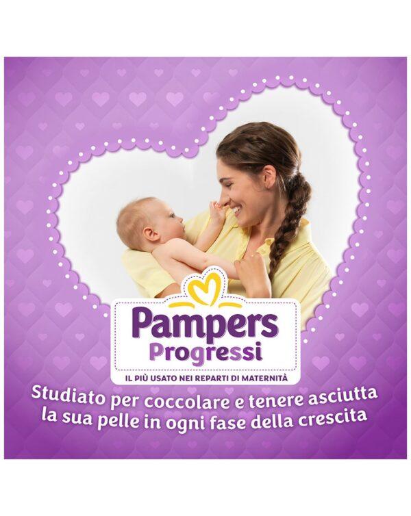 Pampers - Pannolini Progressi esapack tg. 3 (162 pz) - Pampers