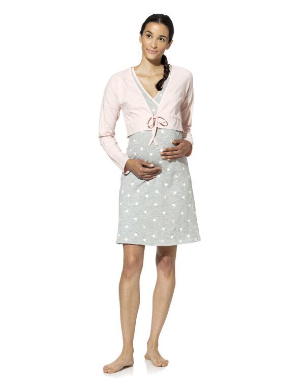 Camicia da notte con bolero - Prénatal