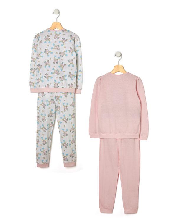 Pack 2 pigiami con stampa unicorni - Prénatal
