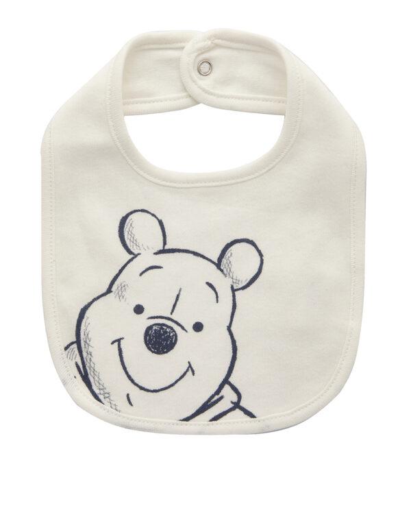 Bavaglino in cotone con stampa Winnie the Pooh - Prénatal