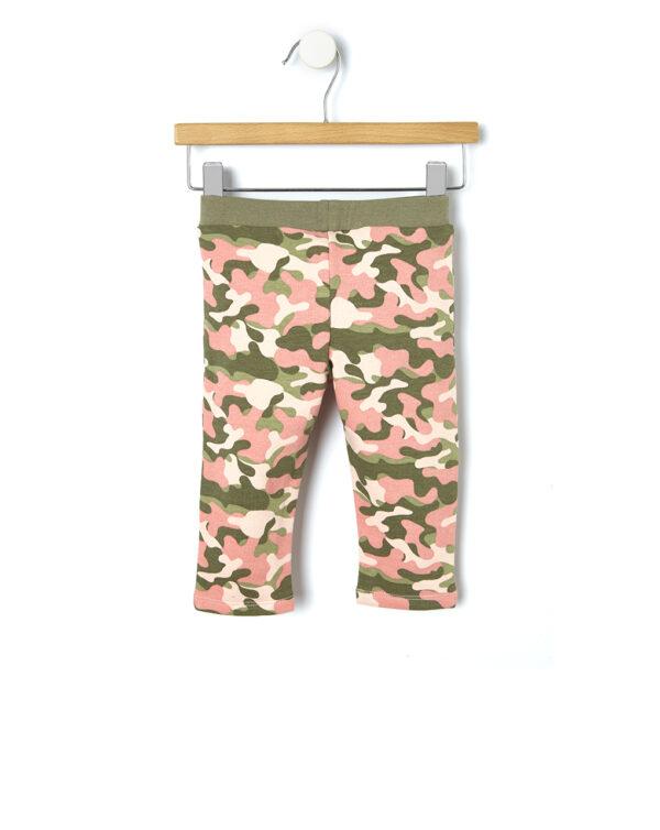 Leggings felpa camouflage - Prénatal