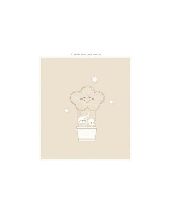 Coperta in ciniglia per culla/carrozzina - Prenatal 2