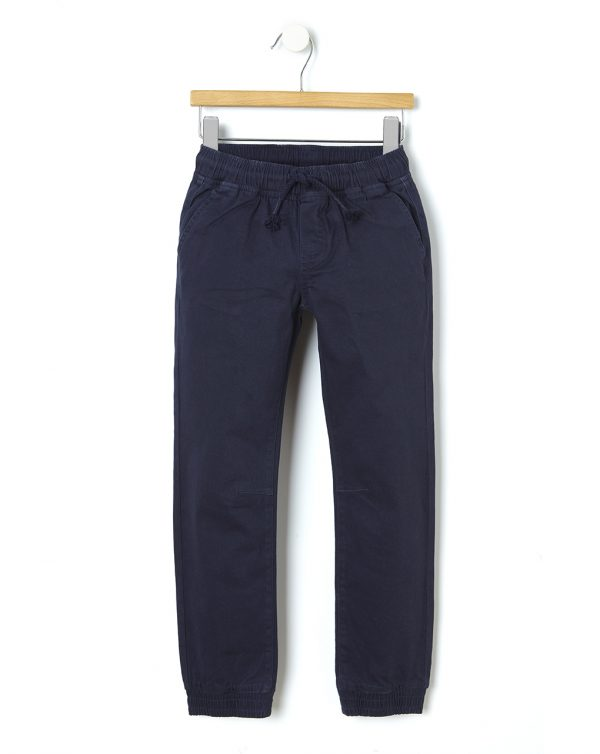 Pantalone in twill con coulisse - Prénatal