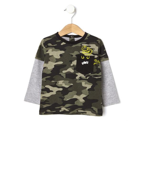T-shirt camouflage - Prénatal