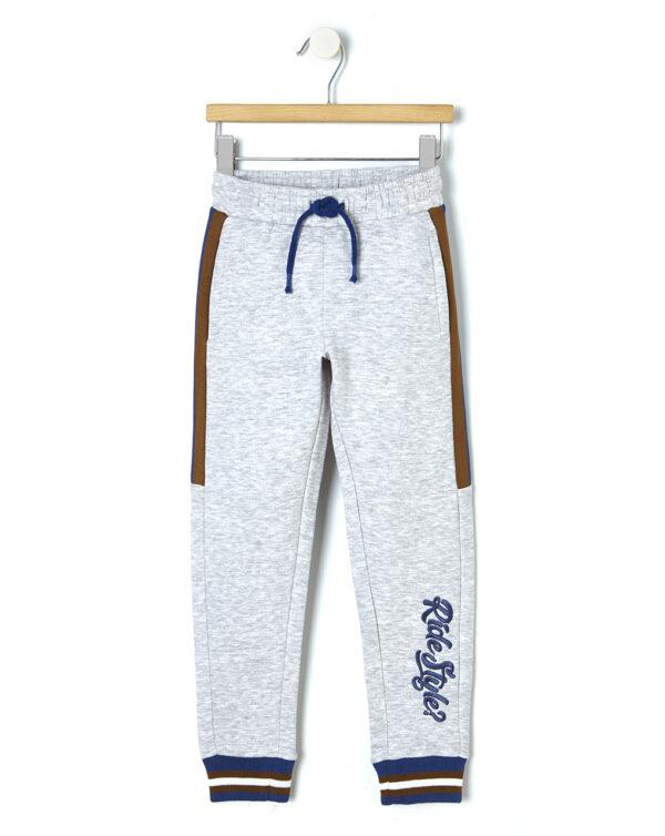Pantalone in felpa con bande laterali - Prénatal