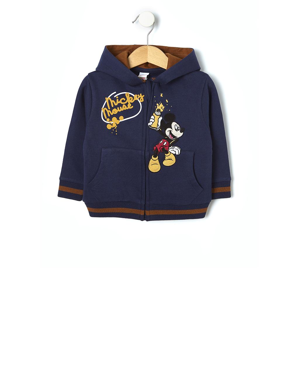 Cardigan con patch mickey mouse - Prénatal