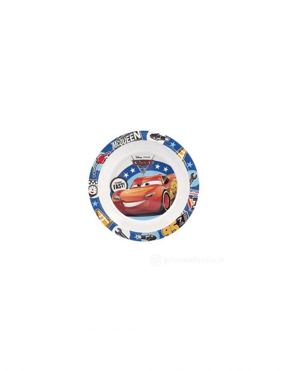 PIATTO FONDO 20 CM CARS3 DISNEY - Disney