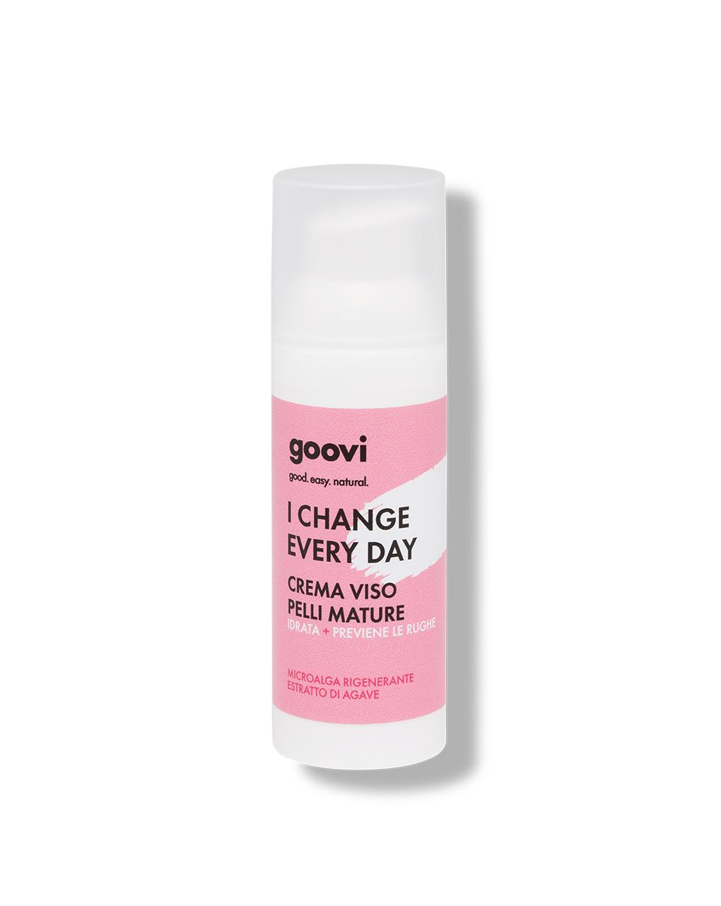 Crema viso pelli mature - 50 ml - Goovi