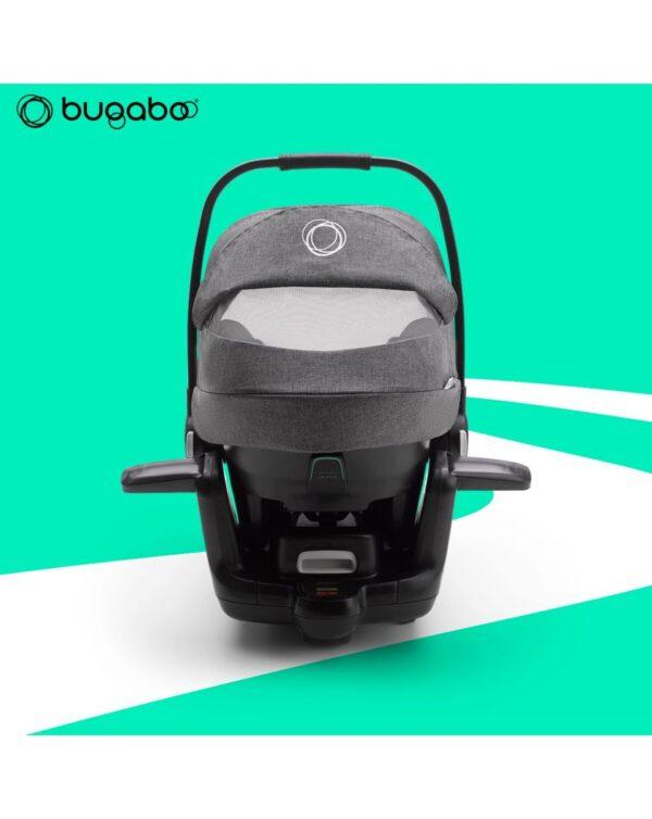 Seggiolino auto Bugaboo turtle air by Nuna grigio melange - Bugaboo