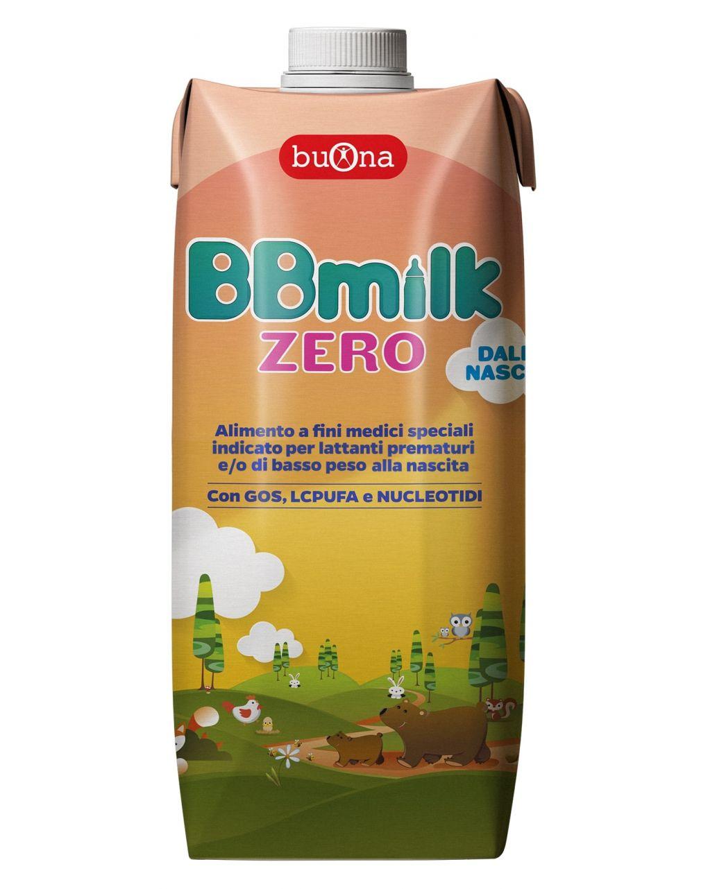 Buona - latte bbmilk zero liquido 500ml - Buona