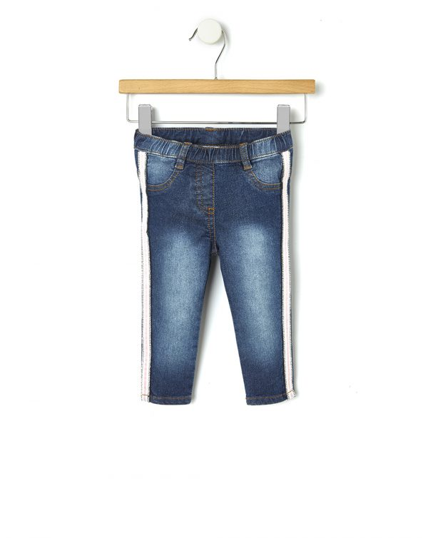 Pantaloni denim con strass - Prénatal