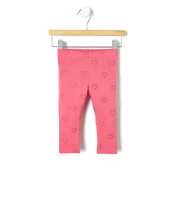 Leggings con stampa glitter - Prénatal