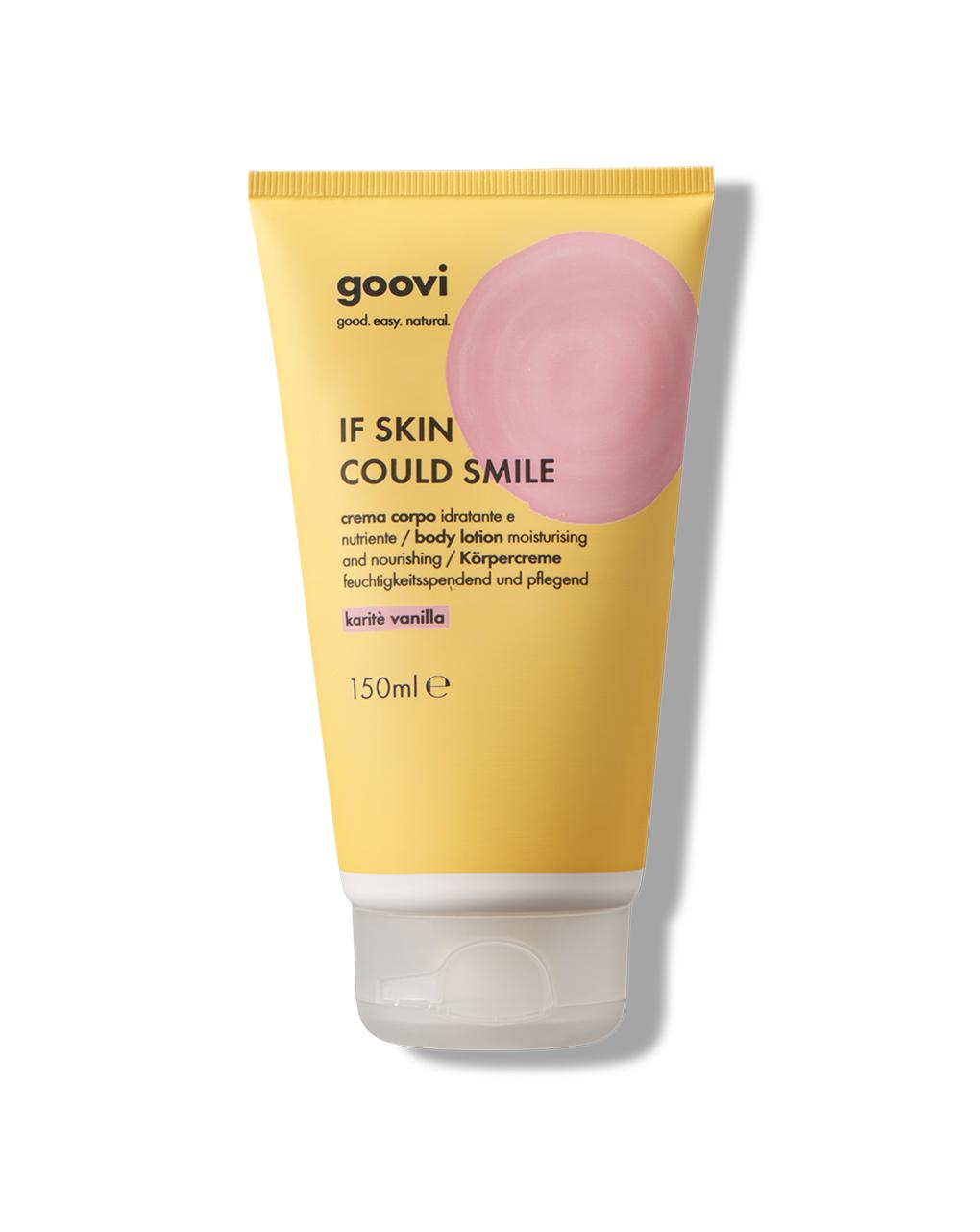 Crema corpo karitè vanilla -  150 ml - Goovi