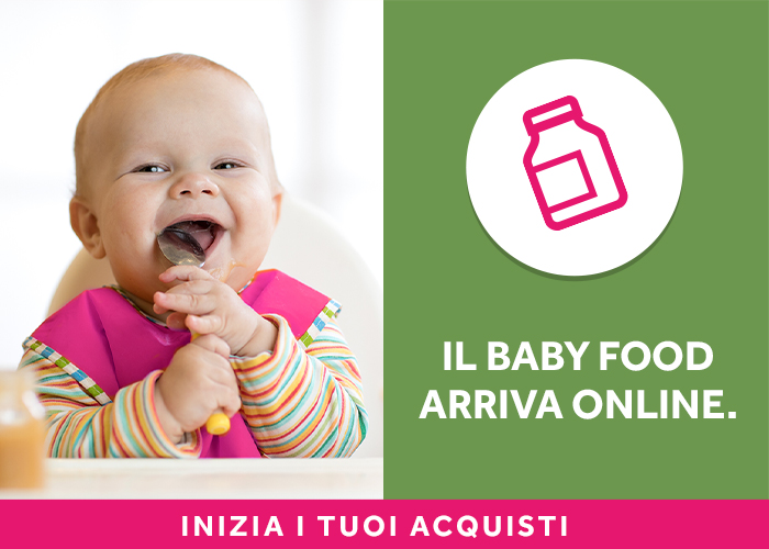 banner promozionale BABY FOOD