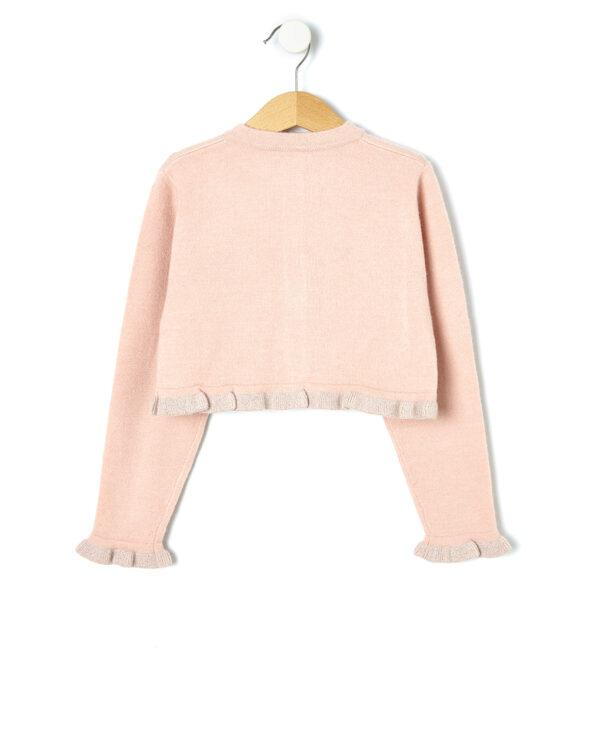 Cardigan tricot con rouches - Prénatal