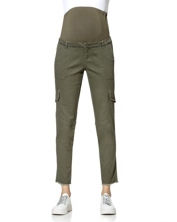 Pantalone premaman modello cargo - Prénatal