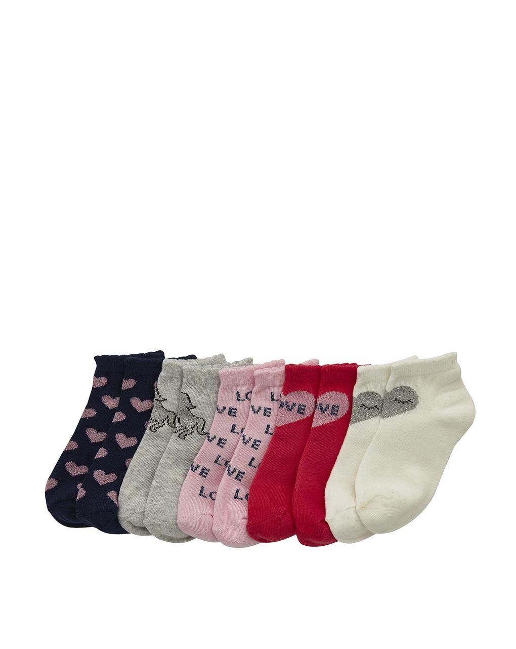 Pack 5 paia di calzini colorati - Prénatal