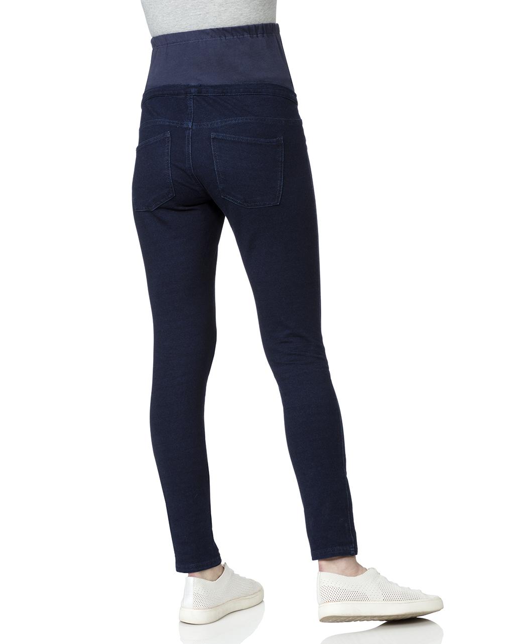 Leggings blu scuro in finti denim - Prénatal
