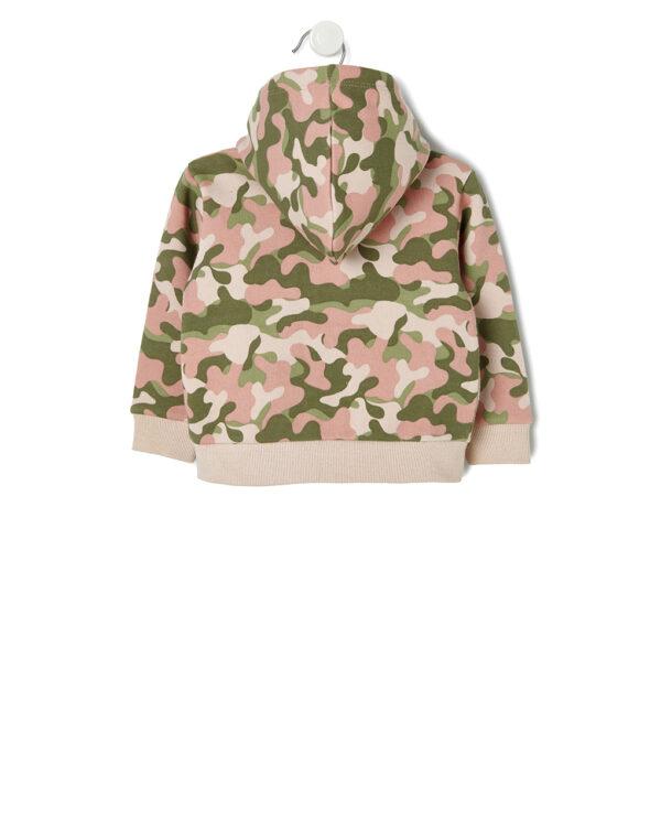 Cardigan in felpa camouflage - Prénatal